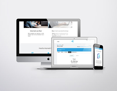 Telenor Norge, Mine Sider   My Pages