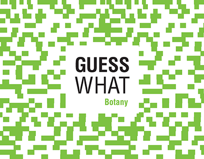 GUESS WHAT - Botany. Card Game to identify leafs