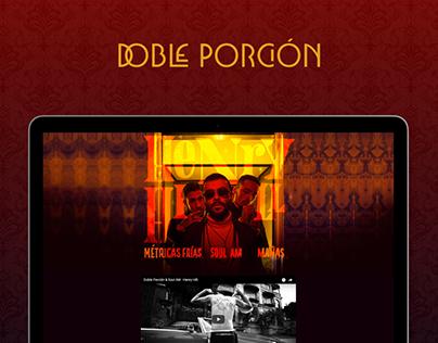 DOBLE PORCIÓN | Landing Page