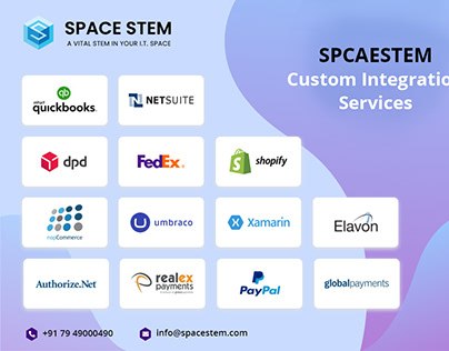 SPACESTEM Custom Integration Services : Quick Glimpse!