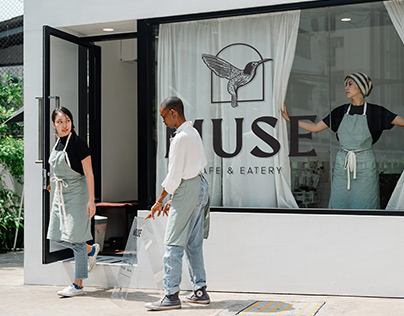 Muse Cafe & Eatery - Brand Identity
