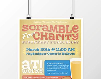 Charity flyer design
