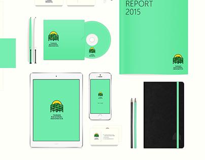 Re-branding: Taman Nasional Indonesia