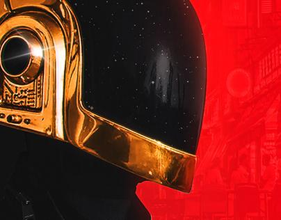 Daft Punk Ui Design