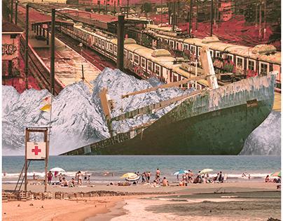 Untitled Digital Collage Series