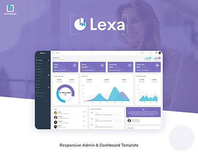 Lexa - Admin & Dashboard