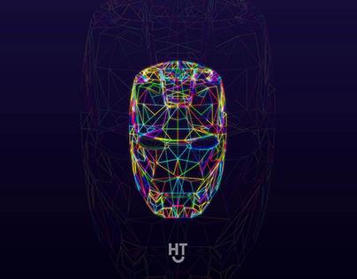 IronMan | Vector Illiustration