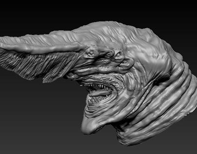 Kaiju Knifehead makeover!