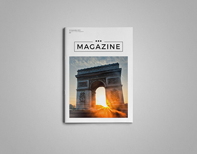 Simple & Clean Magazine Template V