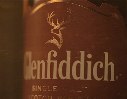 Glenfiddich - Packshot in Motion