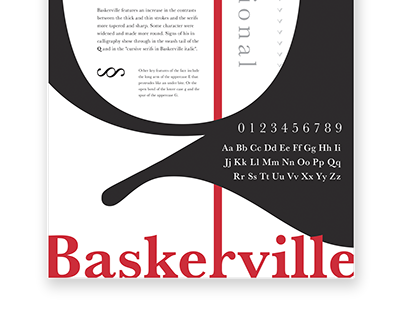 Classical Serif Typeface Posters