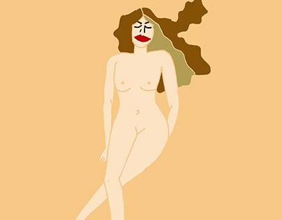 Woman   ilustración