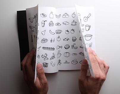 Book design / Książka x 3