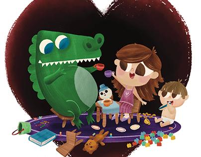 Crocodile Tea Party