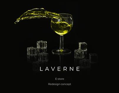 LaVerne. E-store. Redesign.
