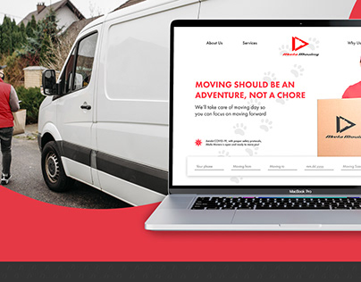 Website and Identity for Moving Company