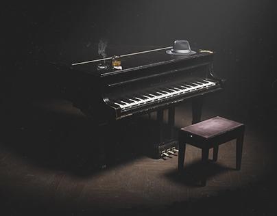 30s Grand piano