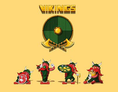 Vikings Illustrations/Stickers