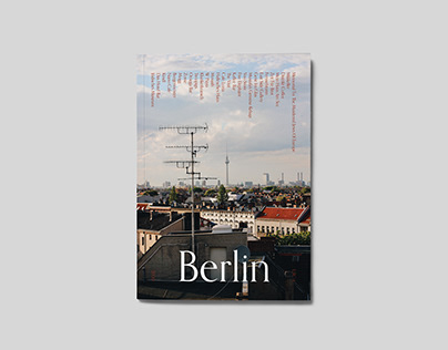 BERLIN TRAVEL ZINE