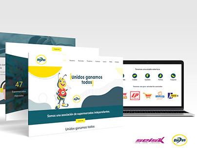 Sitio Web Asiunidos - Seisk Agencia