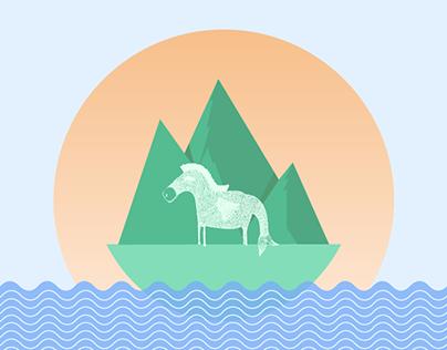 L'âne à nageoires