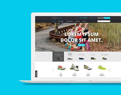 Webdesign funrun