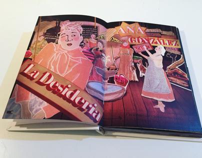 """Ilustraciones  libro """"Mujeres Chilenas Inolvidables"""""""
