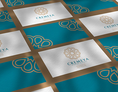 CREMEYA - Premium skincare logo & branding