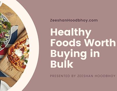 Healthy Foods Worth Buying in Bulk