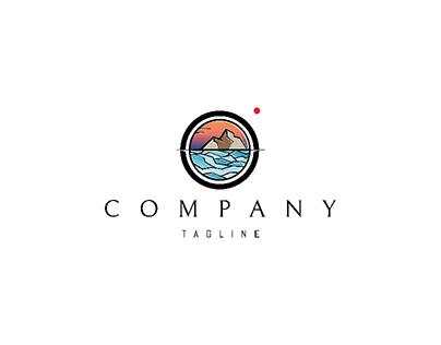Sunset Landscape logo