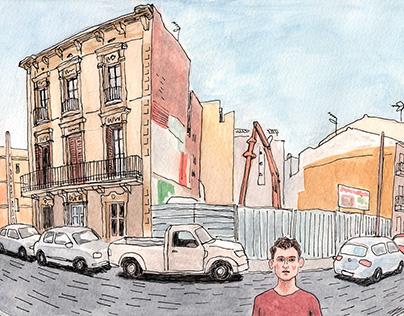 Urban Sketcher en Badalona