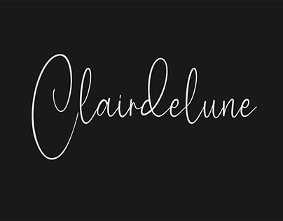 Clairdelune Calligraphy Modern Script Brush Font