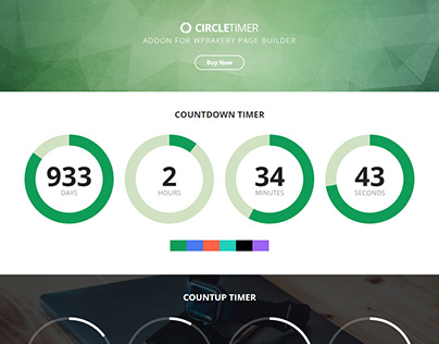 CircleTimer - Addon for WPBakery Page Builder