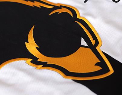 Oakland Bears Hockey Identity