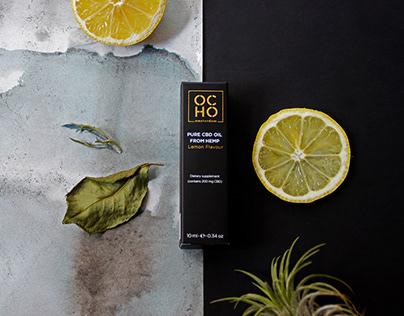 OCHO Amsterdam branding and packaging