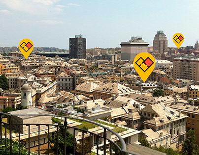 Genova Stanze   Brand Identity