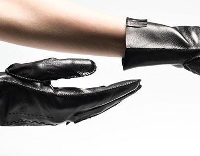 hand stitched gloves