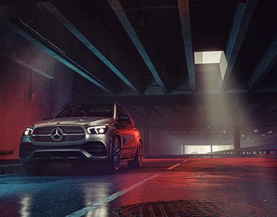 Mercedes GLE - Going Underground