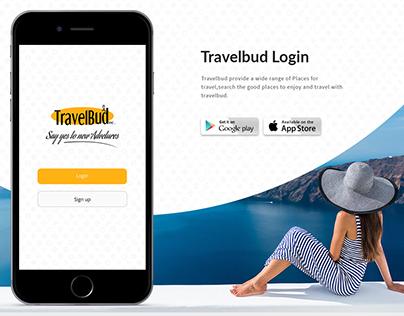 Travelbud app UX/UI design