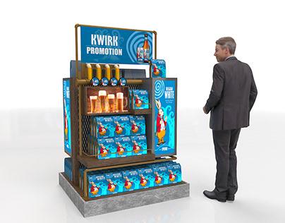 Kwirk Display Gondola