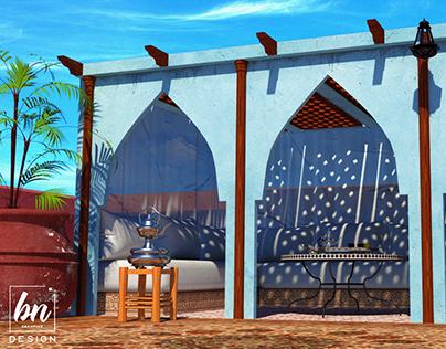 Moroccan Riad Rooftop