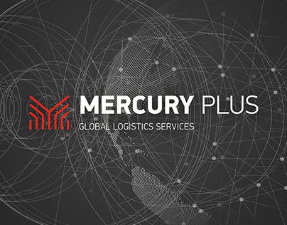 MERCURY. Global Logistics Services. Branding.