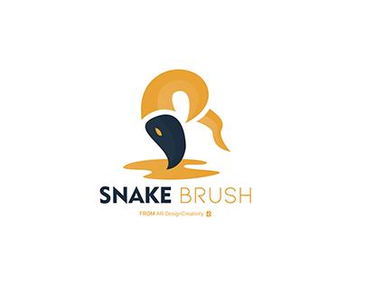 SnakeBrush Logo From AR DesignCreativity
