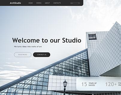 Website Design for architect website