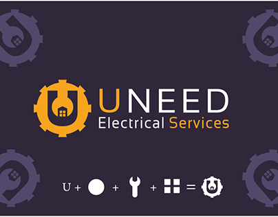 Uneed Appliance Services logo design