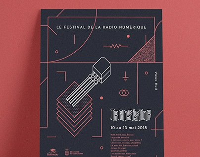Transistor Festival Event Identity