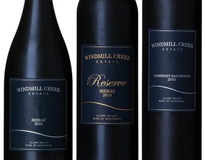 Elegant & Classical Wine Label Design