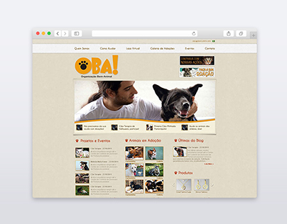 Oba! Web Site and Blog Redesign