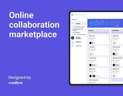 Digital Village - Online collaboration marketplace