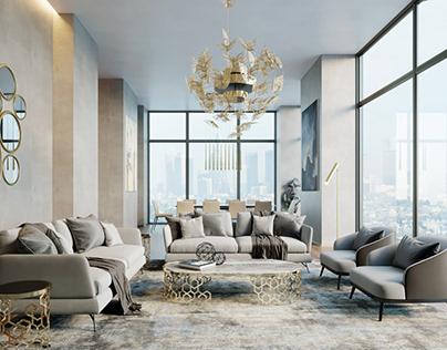 Visualization : Lounge & Dining